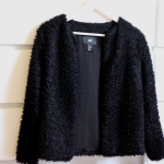New in: Fluffy vest
